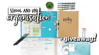 HOW TO SET UP AN ORGANISATION SYSTEM FOR SCHOOL/UNI + GIVEAWAY (closed) | studycollab: alicia