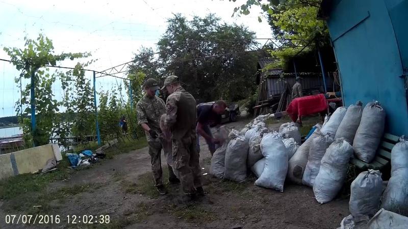 07 07 16 НахабнеБраконьєрство в Смілі на чолі з рятувальниками