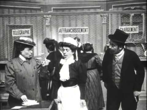 Прилипчивая женщина La femme collante 1906