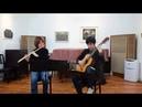 ハバナ組曲 E マルティン フルート ター Suite Habana for Flute Guitar