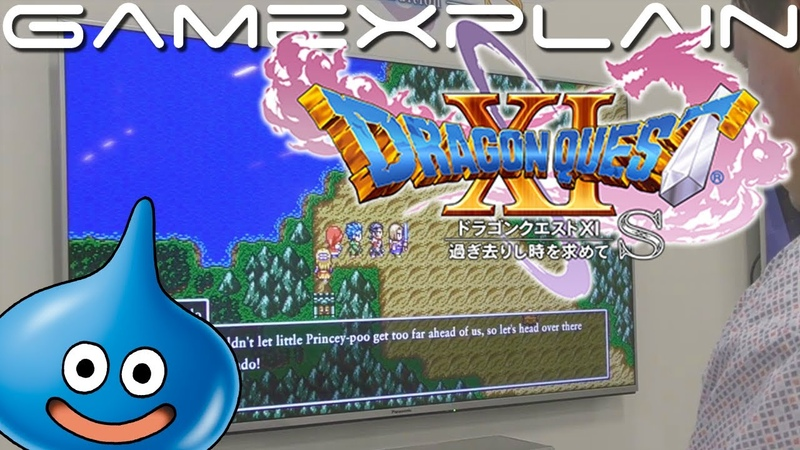 15 Minutes of 2D Mode in Dragon Quest XI S for Nintendo Switch Gamescom