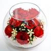 Флоретика. Живые цветы в вакууме. Цветы в стекле