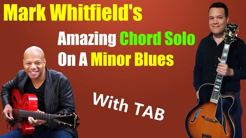 Mark Whitfield's Chord Solos You Gotta Check This out