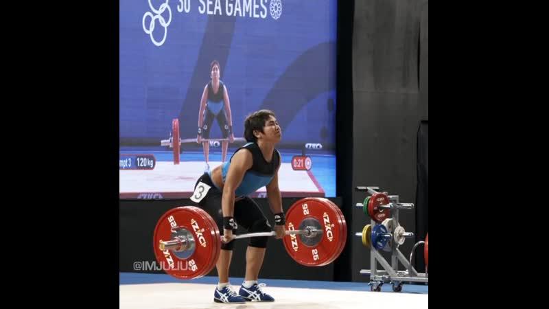 Hidilyn Diaz OLY 120 kg WR