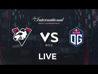 Vp vs og, bo2. group stage the international 2019