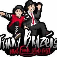 Логотип FUNKY BRAZERS 2019 / Ural funk style fest