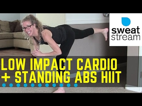 Low Impact Cardio Standing Abs HIIT Workout for Beginners w Pahla Bowers
