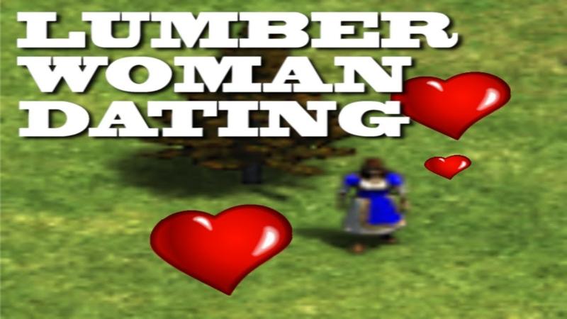 LUMBER WOMAN tries online dating