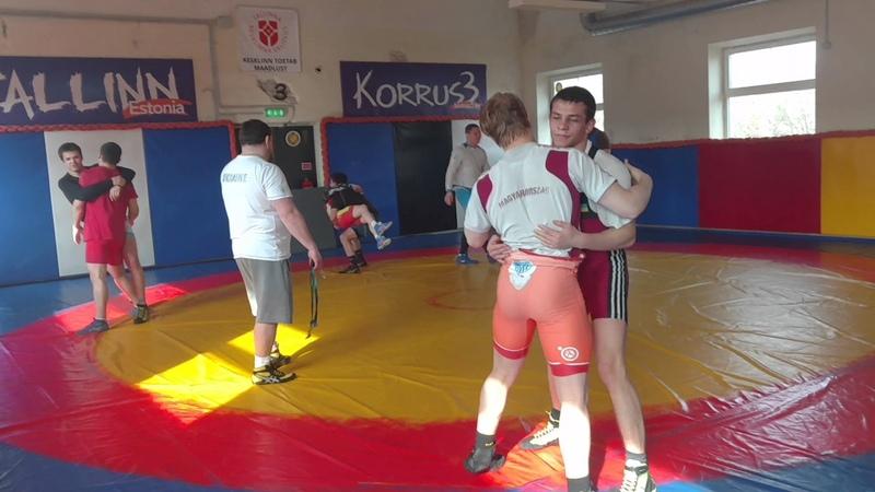 Ukrainian Warm Up with Partner - Greco-Roman - 505WC