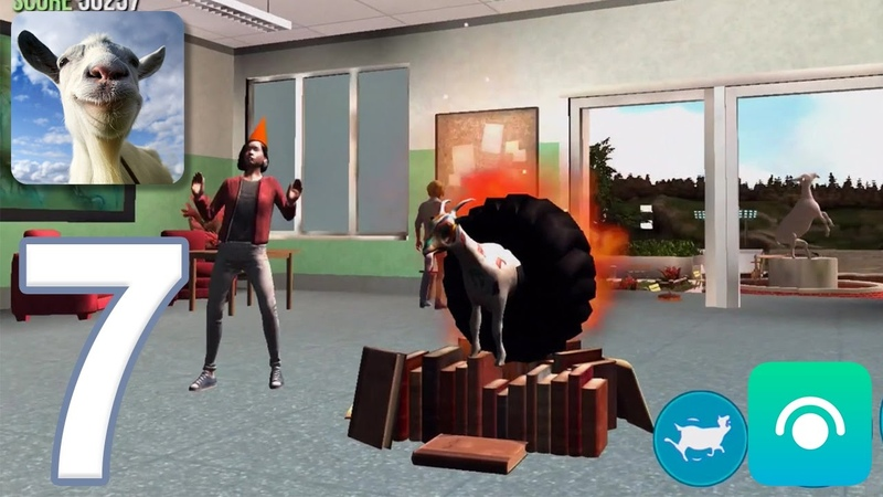 Goat Simulator Gameplay Walkthrough Part 7 Buck To School Completed iOS Android