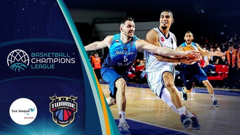 Türk Telekom v Polski Cukier Torun Highlights Basketball Champions League 2019 20