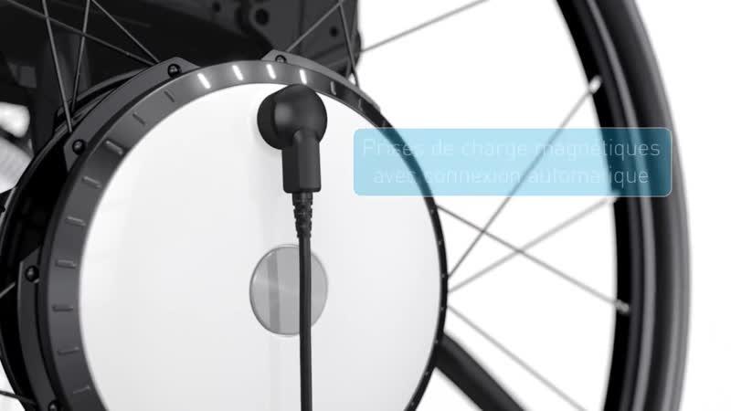 Assistance électrique à la propulsion Twion - Version 3D