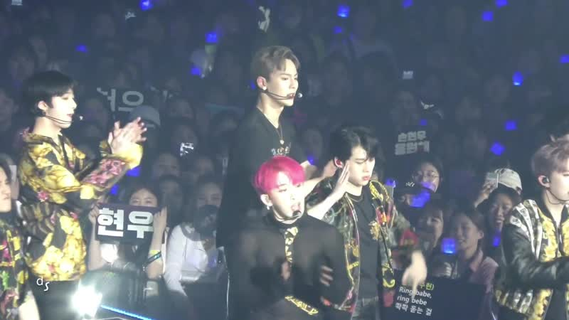 [Fancam][13.04.2019] The 3rd World Tour WE ARE HERE in Seoul - Oh My! (SHOWNU FOCUS)