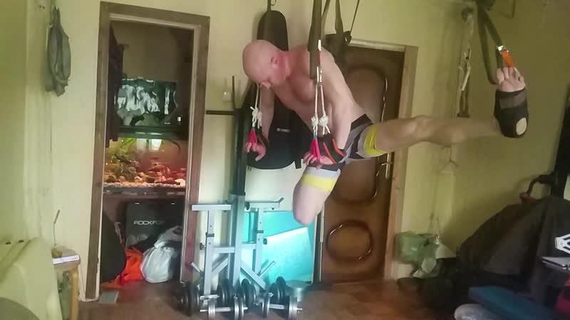 Моя тренировка на домашнем тренажёре Альфа гРАвити 08 04 2020