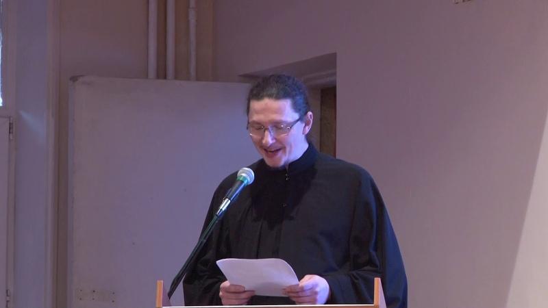 «Опыт образования семинарского хора» — диакон Александр Амерханов