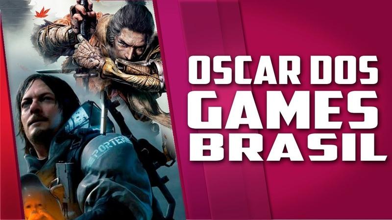 O OSCAR DOS GAMES no Brasil veja os VENCEDORES