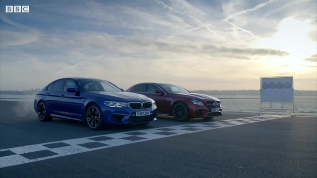 BMW M5 vs Merc-AMG E63 S