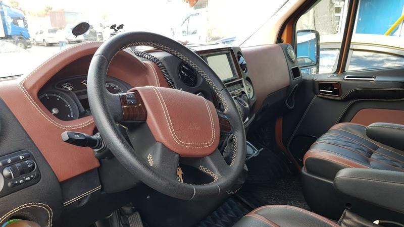 Тюнинг цельнометаллического фургона ГАЗель Next
