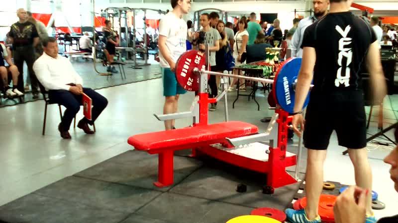 GANTELЯ IX: Перунова Секира; 2 подход 115 кг