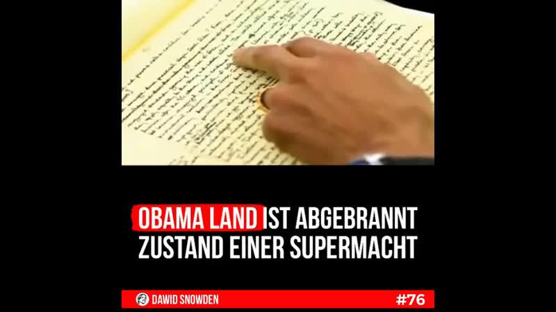 76 Obama Land ist abgebrannt Der Zustand einer Supermacht