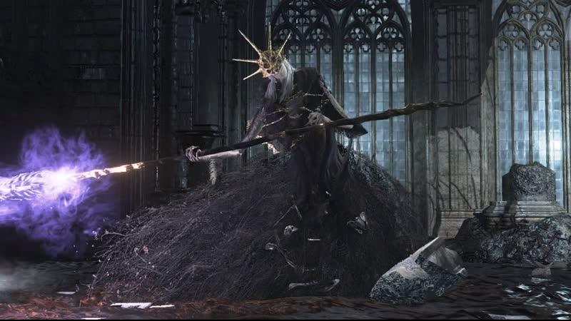 Босс Олдрик, Пожиратель Богов 8 Dark Souls III. ..И затем снова пришел нубас.. Всё никак не успокоится..