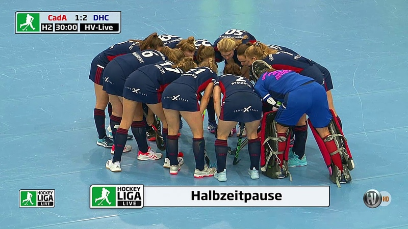 Finale DM Halle Damen CadA vs DHC 4 3 09 02 2020 Stuttgart