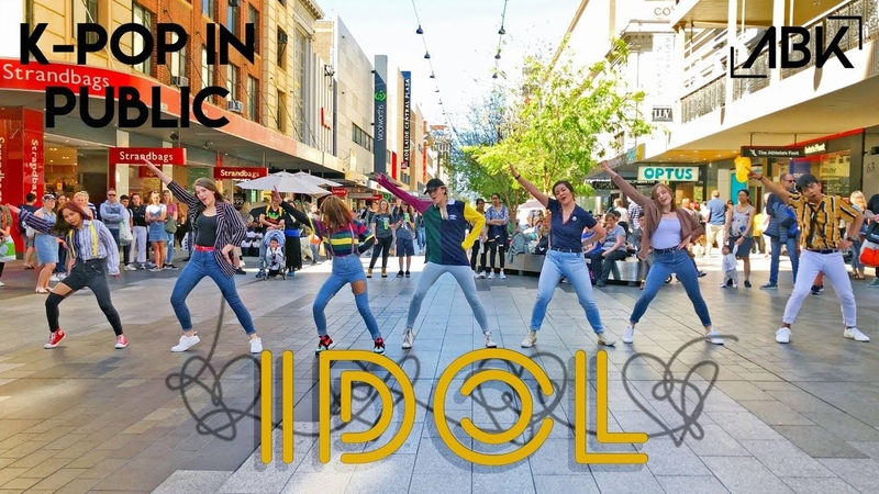 [K-POP IN PUBLIC] BTS (방탄소년단) - IDOL (아이돌) Dance Cover by ABK Crew from Australia IDOLChallenge