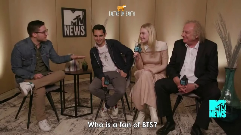 Everybody loves V Taehyung part 29 [Elle Fanning, Max Minghella, Younghoon, Ansel]