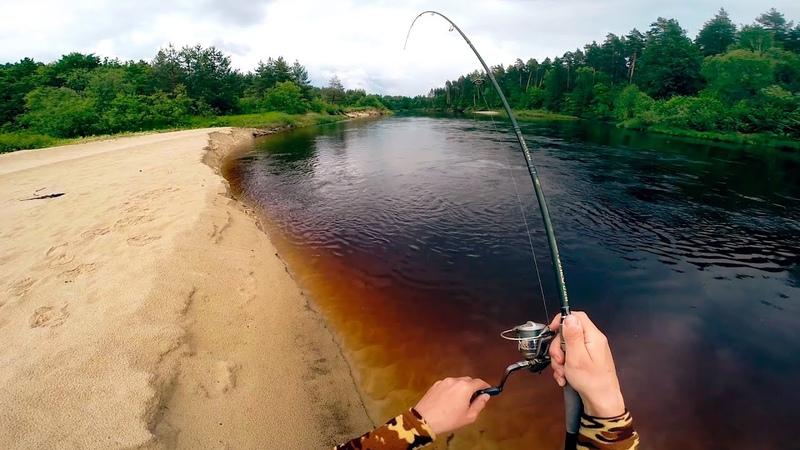 ЩУКИ АТАКУЮТ Рыбалка сплавом по таежным речкам