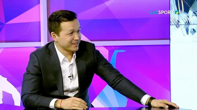 В гостях у QAZSPORT Талгат Жайлауов