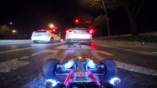Driving my RC car at night in ISTANBUL traffic