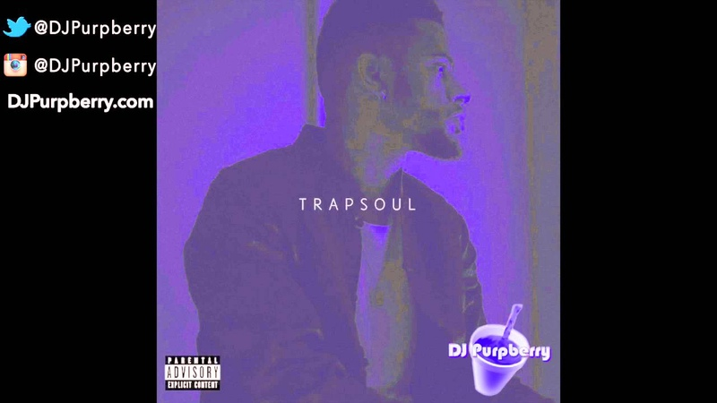 Bryson Tiller ~ T R A P S O U L *FULL MIXTAPE* (Chopped and Screwed) by DJ Purpberry