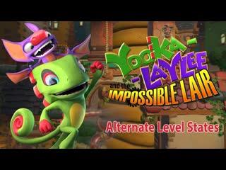 Yooka-Laylee and the Impossible Lair - Трейлер альтернативных состояний уровней