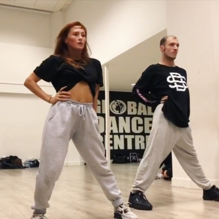 """Jordy Sparidaens on Instagram Thinking about reteaching this one soon Man the vibe in this class was amazing Dancing with my superstar @sophiamason I miss dancing…"""""""