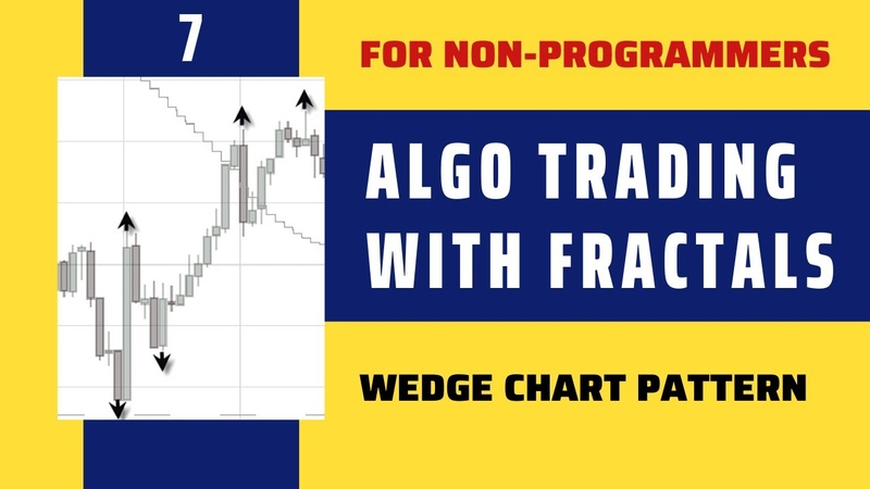 FRACTAL Algorithmic Trading Wedge Chart Pattern FREE course for Non programmers FREE Indicators