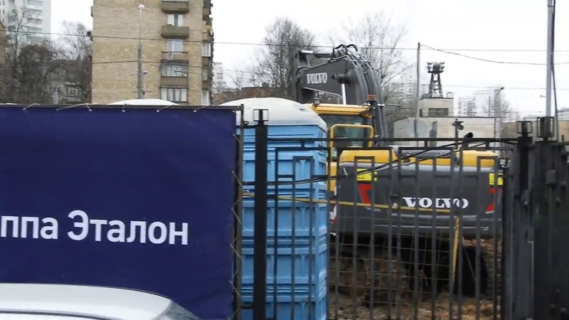 ЖК Счастье на Ломоносовском от Группы Эталон, январь 2020, ход стройки, ч.5