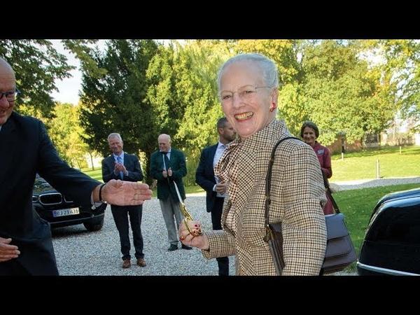 Dronning Margrethe indvier Fuglsang Refugium