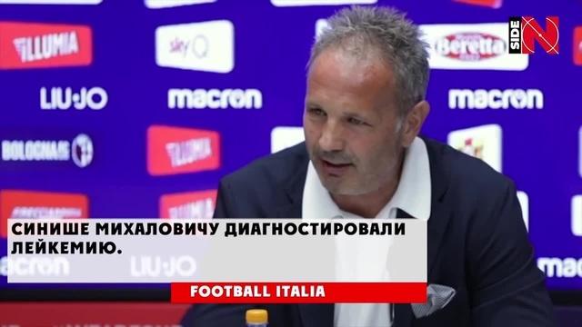 Синиша Михајловић Сильные слова