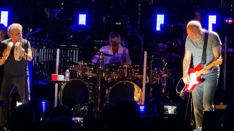 The Who Live 2019 Houston - Roger lost his voice, concert cancelled