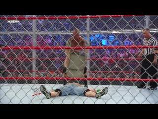 [#My1] Ад в клетке 2009 - Рэнди Ортон против Джона Сины