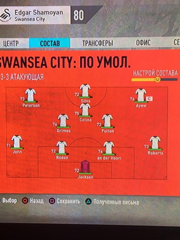 Карьера за Swansea city.