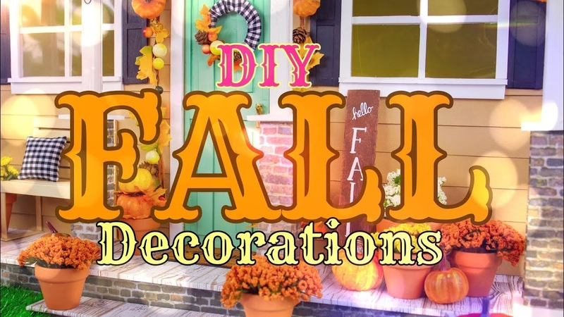 DIY - How to Make: EASY Fall Decorations Miniature 1:6th Scale