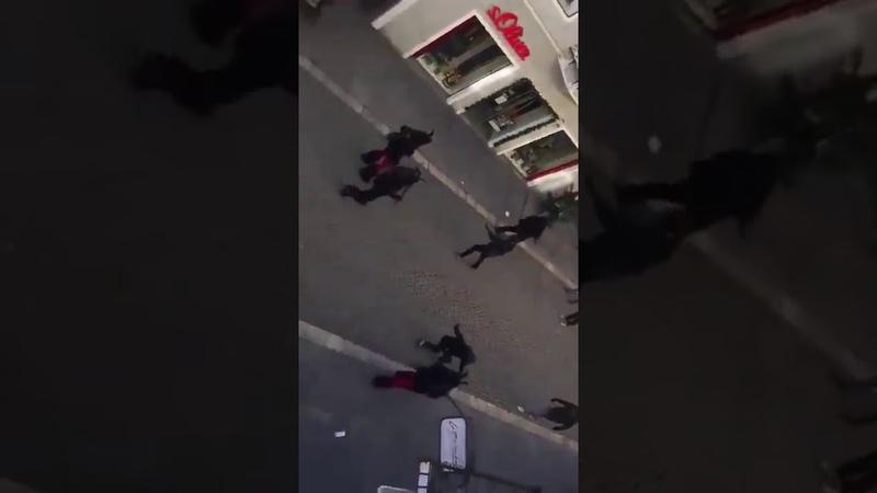 Austria fights back! Krampus vs migrants