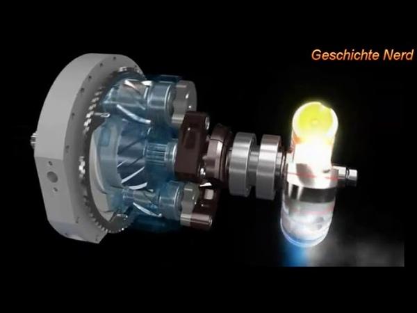 Роторно лопастной двигатель Вигриянова