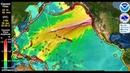 Terrifying Simulation of NorthWest Megaquake by the Cascadia Fault