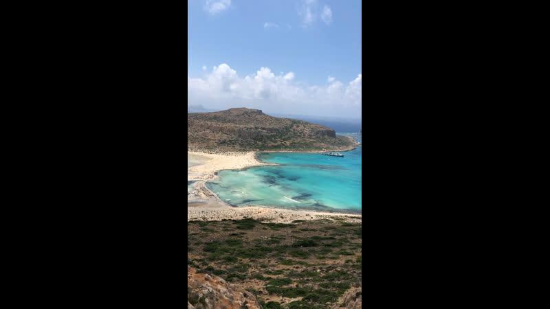 Crete Greece Июль 2019