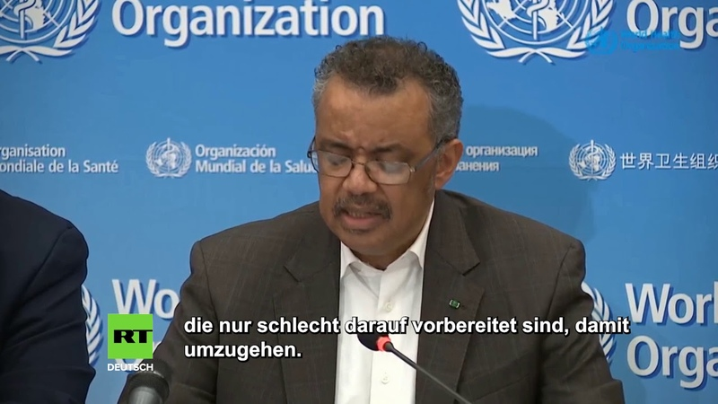 WHO erklärt Coronavirus Bedrohung zu internationalem Notfall und lobt China