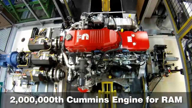 Cummins Builds Two Millionth Pickup Engine for Ram HD Trucks