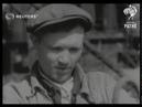 RUSSIA Construction of blast furnace 1942
