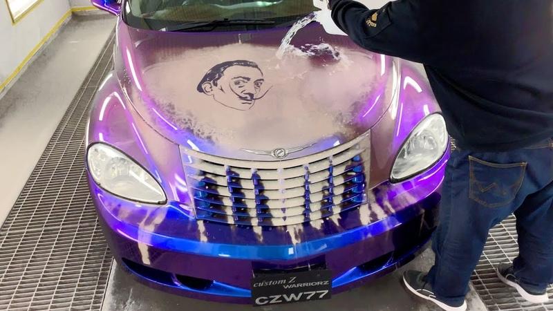 キャンディー塗装 ラメ塗装 より凄い!カスタムペイント 動画 Double Color Changing Car